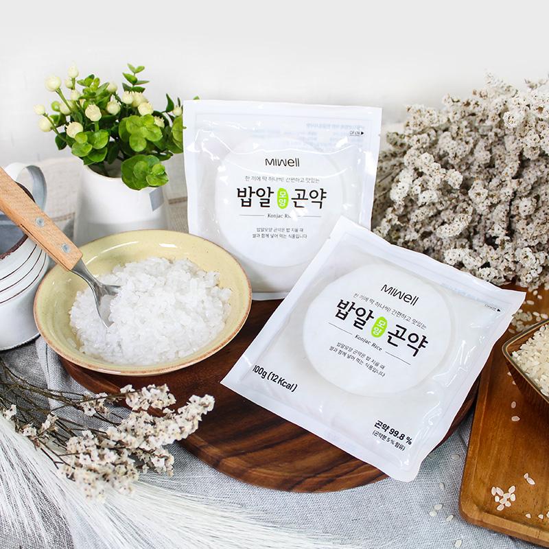 [미웰] 밥알모양 곤약 100g 곤약밥