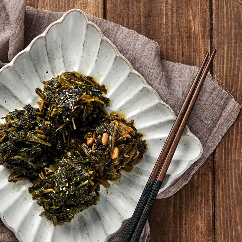 [윤영근의 착한나물] 맨밥에 비벼 먹는 나물 4종