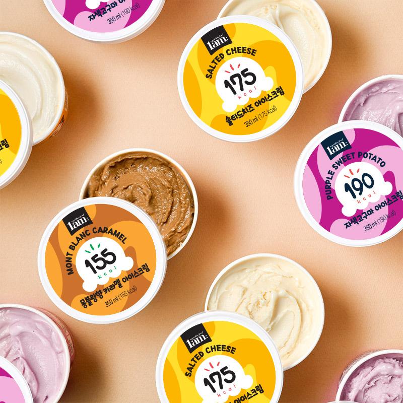 [1am] 라이트 젤라또 아이스크림 3종 2통