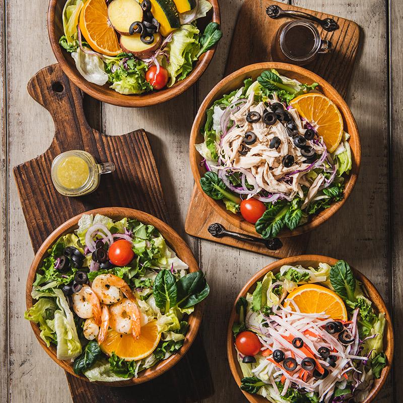 [메이플델리] 푸짐하고 신선한 샐러드 4종
