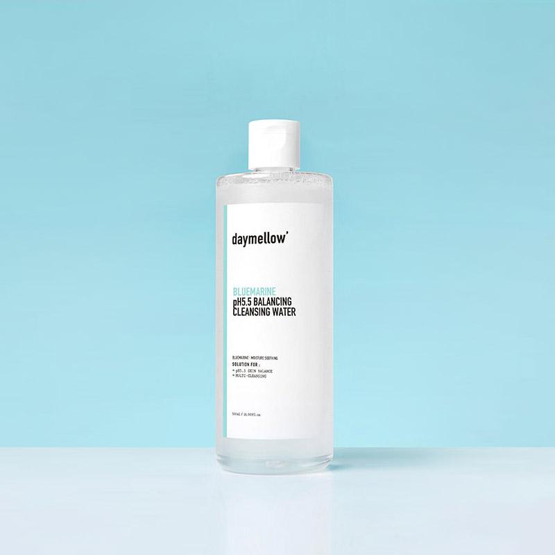 [데이멜로우] 블루마린 pH5.5 밸런싱 클렌징워터 500ml