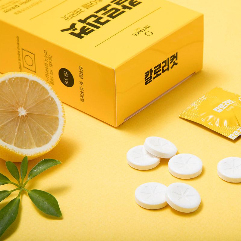 [인테이크] 칼로리컷 츄어블 레몬맛 42정 가르시니아