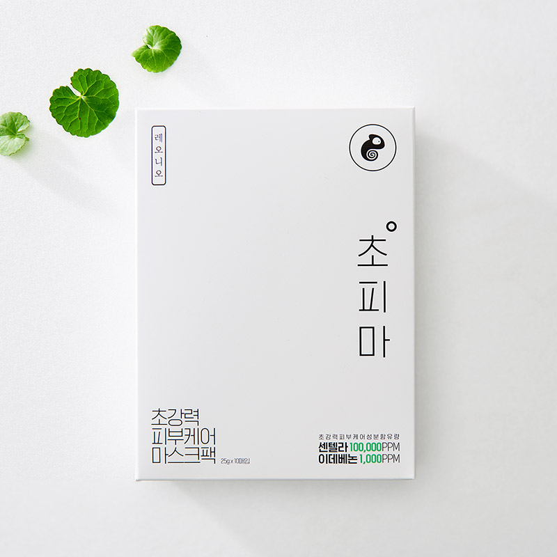[레오니오] 초강력 피부케어 초피마 마스크팩 10매+2매증정