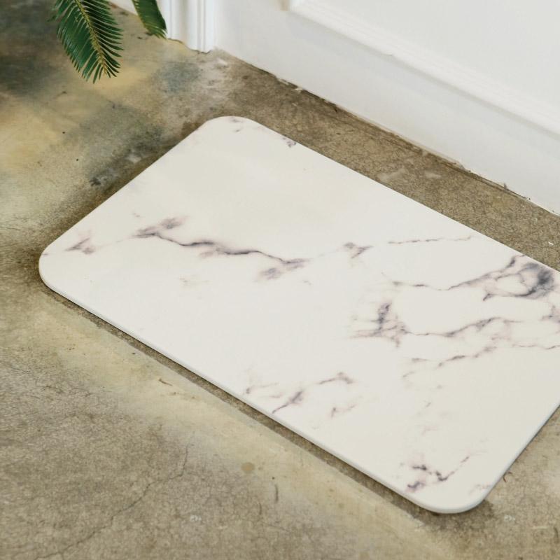 [세레스홈] 마리 규조토 욕실발판 디자인 발매트 3종