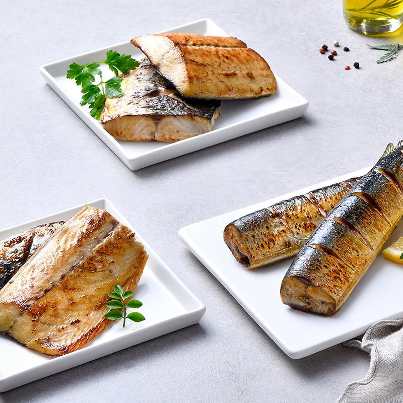 [랭킹수산] 렌지에 돌려 먹는 간편 생선구이 3종