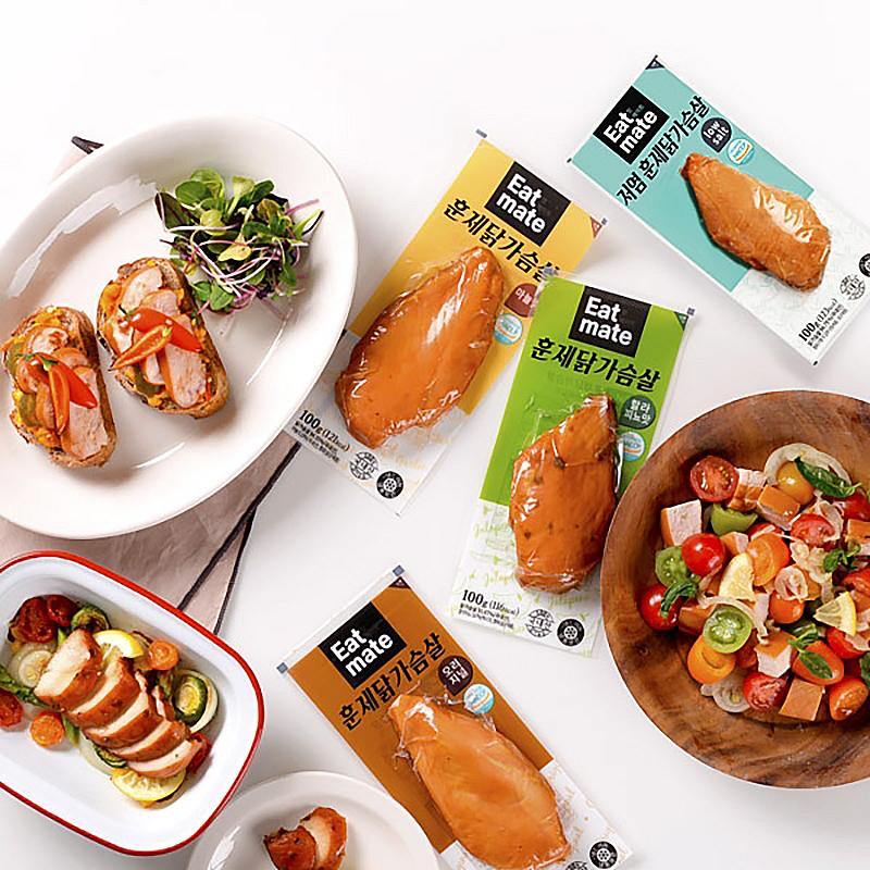 [잇메이트] 매일 먹어도 부담없는 맛과 가격, 훈제 닭가슴살