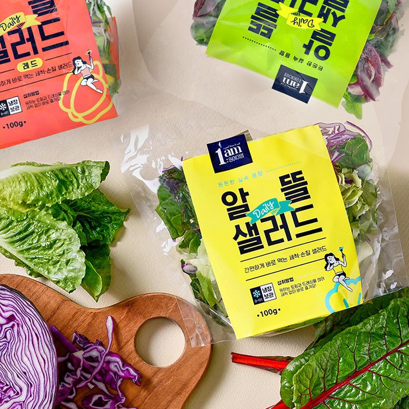 [1am] 정기배송 / 알뜰 데일리 샐러드 3종