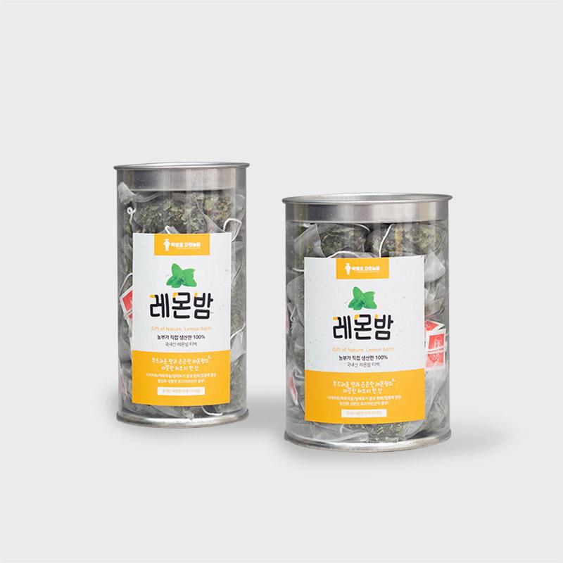 [박병호자연농장]★1+1행사★국내산 레몬밤 티백 15g