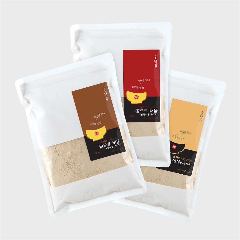 [소적두] 국산 선식 3종 700g