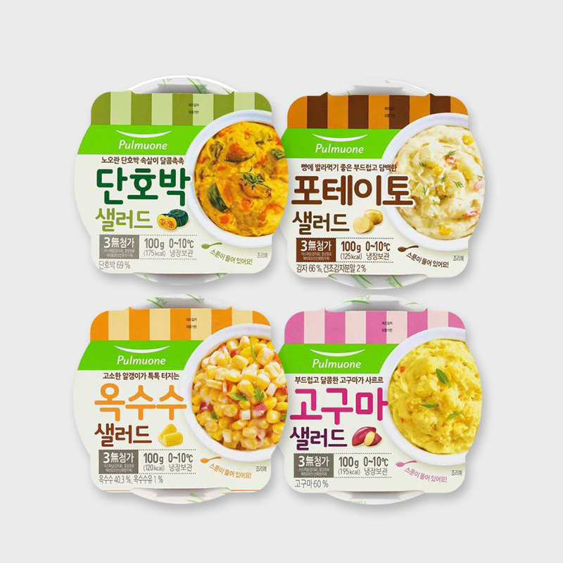[풀무원] 샐러드 4종 100g