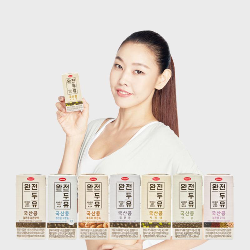[한미] NEW 완전두유 국산콩 7종 (16팩)