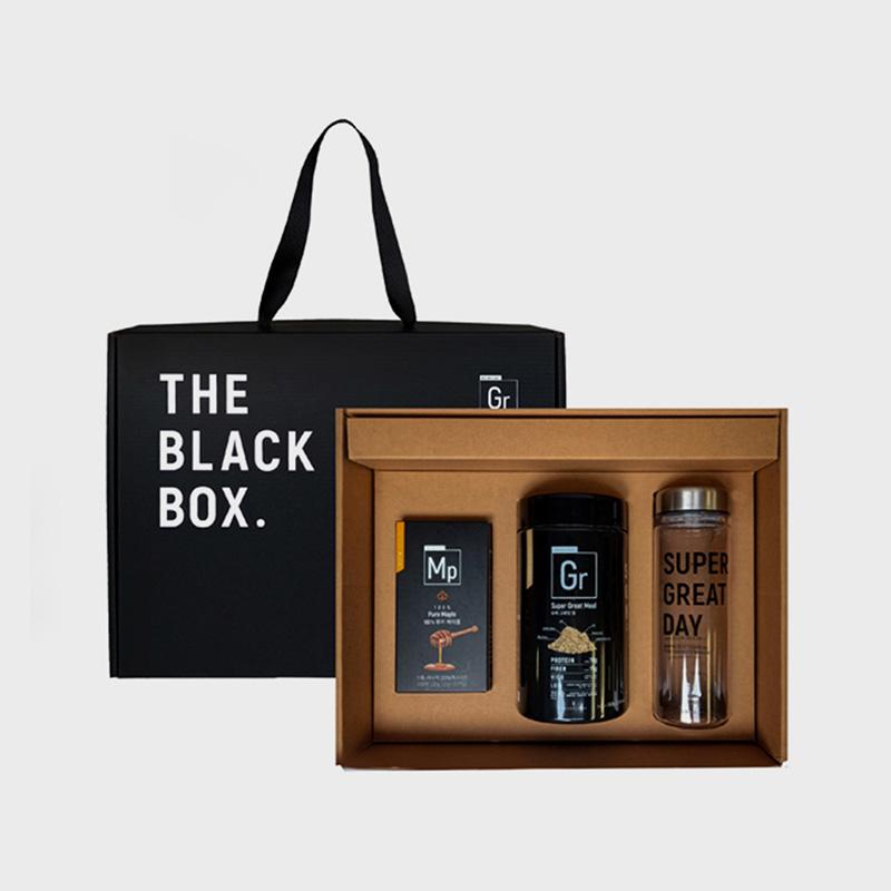 [그라놀로지] 더 블랙 박스, 슈퍼 그레잇한 홈카페 세트